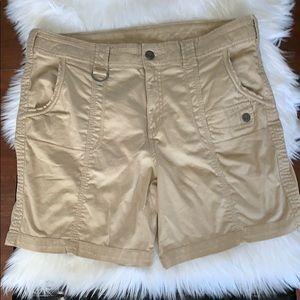 Style & Co. size 16 hiking - cargo shorts in khaki